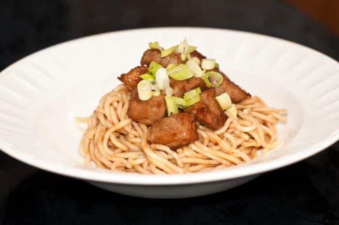 noodle recipe with pork